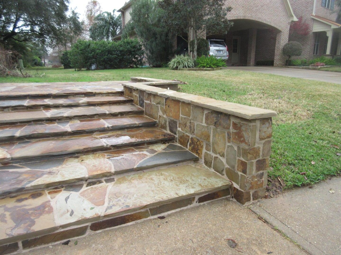 Stairs | Stone Repair serving Houston-Metro Area